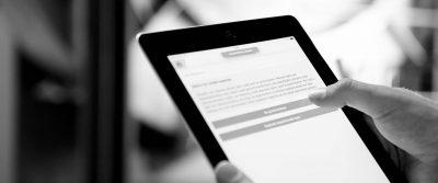 checklist tablet