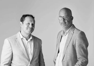 Roger en Gerben medewerkers Normec Foodcare