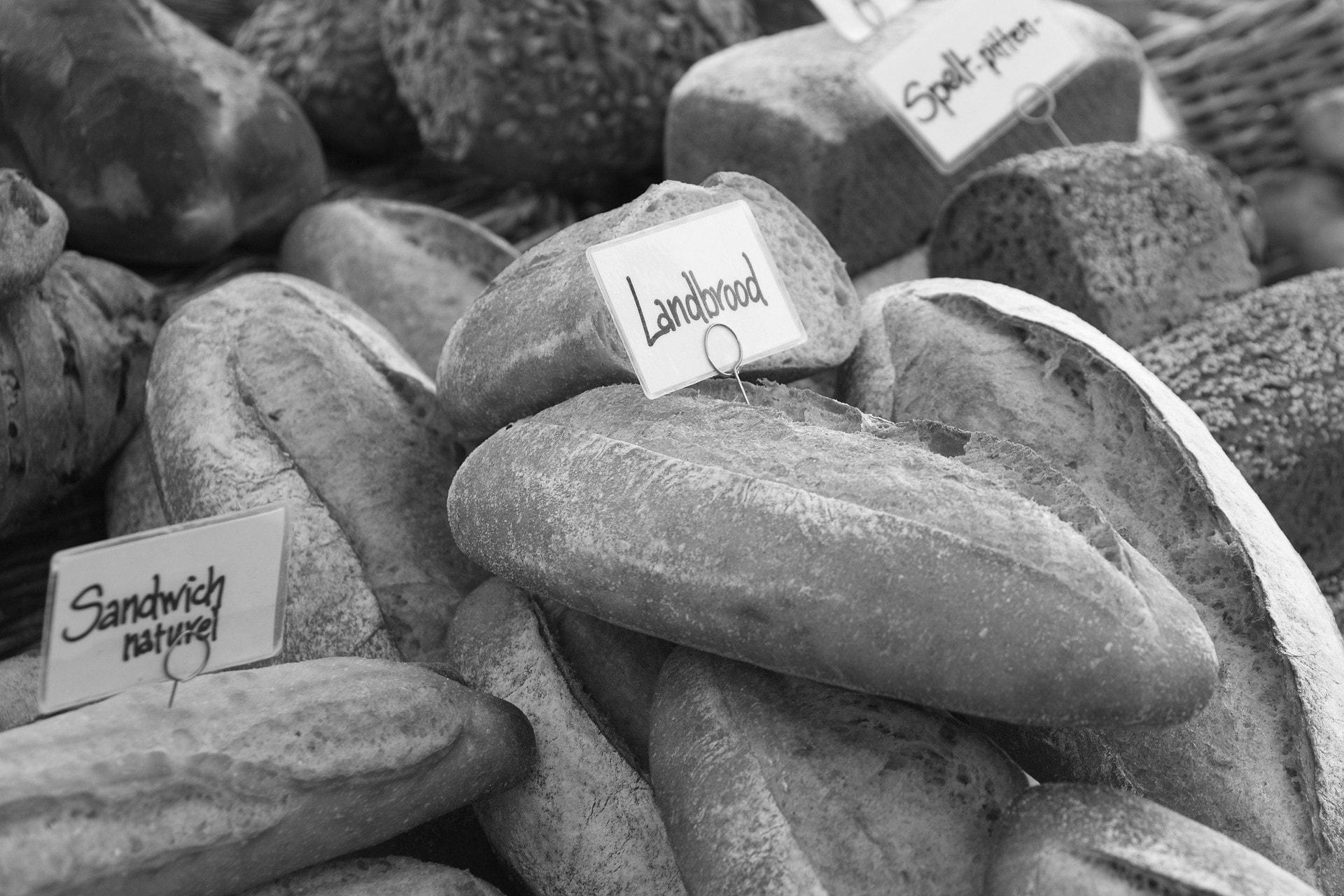 landbrood en andere soorten brood