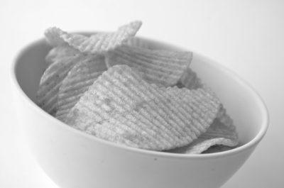chips in schaaltje