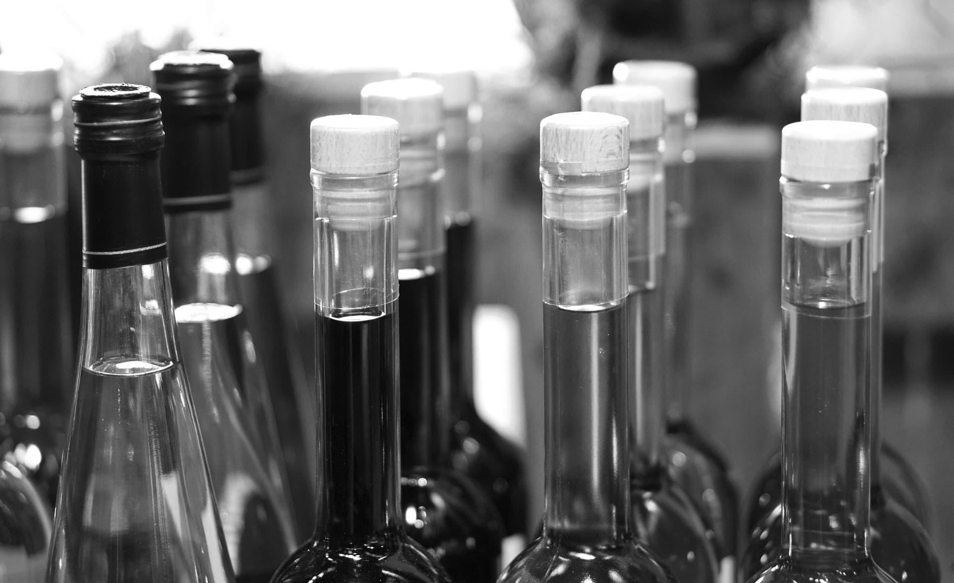 etiket alcohol